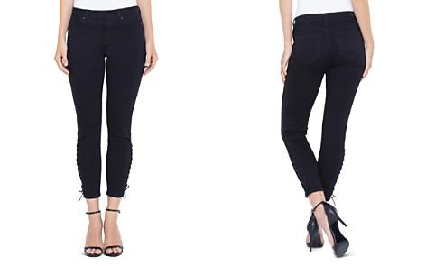 Liverpool Alyssa Crop Skinny Jeans in Black Rinse - Bloomingdale's_2