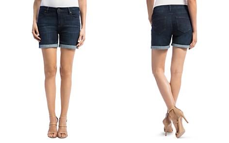 Liverpool Vickie Denim Shorts in Vintage - Bloomingdale's_2