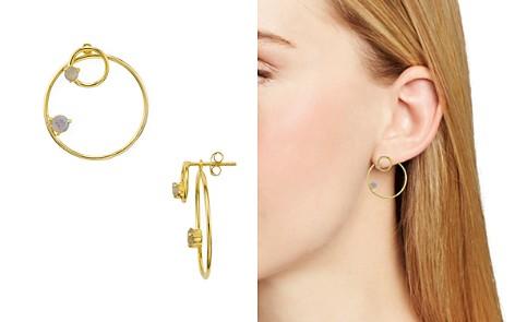 Argento Vivo Sydney Labradorite Double Hoop Earrings - Bloomingdale's_2