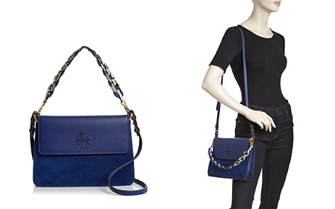 Tory Burch McGraw Suede & Leather Mixed Strap Shoulder Bag - Bloomingdale's_2