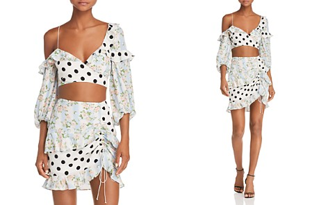 For Love & Lemons St. Louis Crop Top - Bloomingdale's_2
