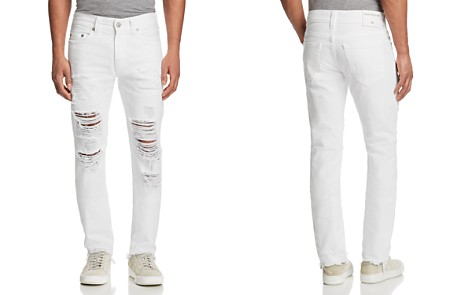 True Religion Rocco Slim Fit Jeans in White Volcanic Ash - Bloomingdale's_2