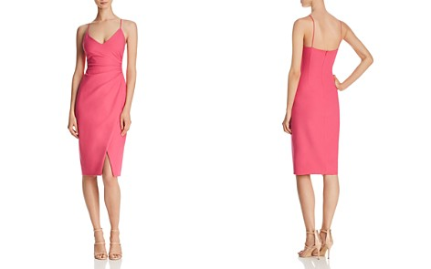 Black Halo Bowery Ruched Dress - Bloomingdale's_2