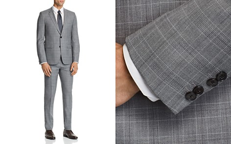 HUGO Astian/Hets Slim Fit Tonal Plaid Suit Separates - Bloomingdale's_2