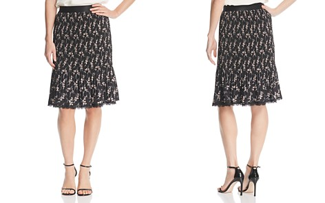 Le Gali Luna Pleated Floral Skirt - 100% Exclusive - Bloomingdale's_2