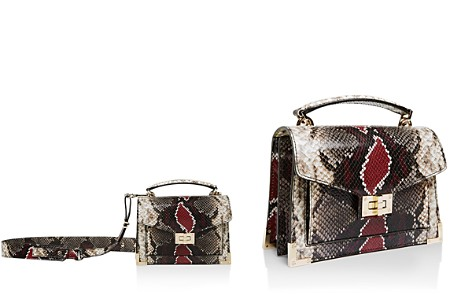 The Kooples Emily Snake-Embossed Leather Mini Crossbody - Bloomingdale's_2