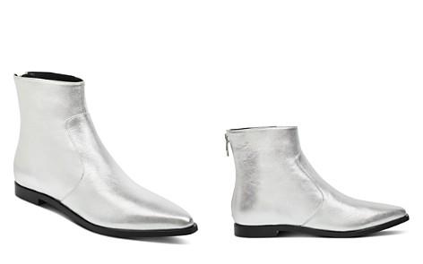 Sigerson Morrison Women's Eranthe Metallic Leather Booties - Bloomingdale's_2