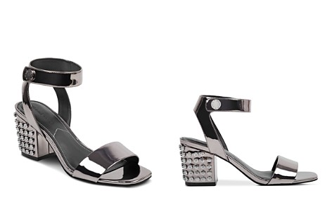 KENDALL and KYLIE Women's Sophie2 Studded Patent Leather Block Heel Sandals - Bloomingdale's_2