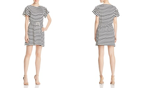 kate spade new york Striped Fit-and-Flare Dress - Bloomingdale's_2