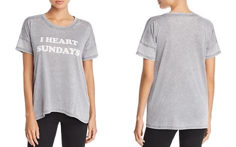 PJ Salvage I Heart Sundays Tee - Bloomingdale's_2