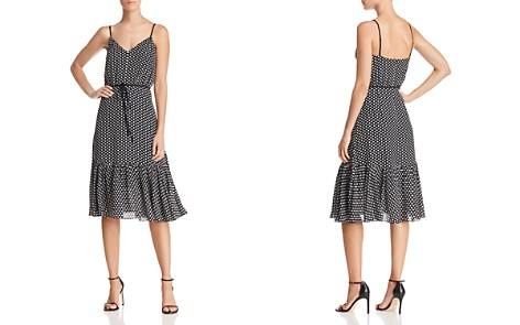 MILLY Tiffany Dot Silk Dress - Bloomingdale's_2