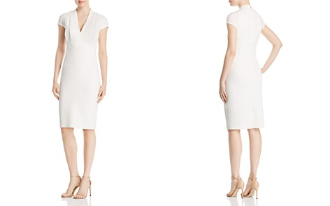 Elie Tahari Gerarda V-Neck Sheath Dress - Bloomingdale's_2