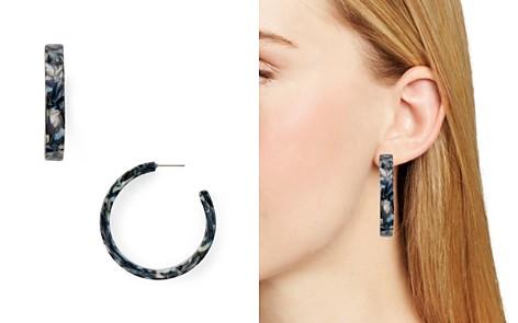 AQUA Marble Hoop Earrings - 100% Exclusive - Bloomingdale's_2