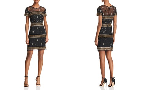 Aidan Mattox Beaded Cocktail Dress - 100% Exclusive - Bloomingdale's_2