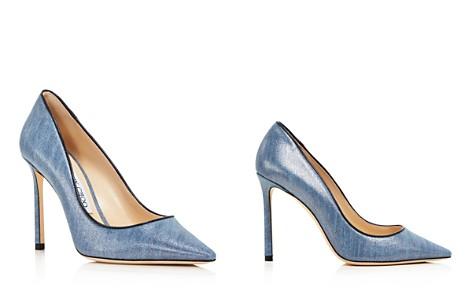 Jimmy Choo Women's Romy 100 Denim Pointed Toe High-Heel Pumps - Bloomingdale's_2
