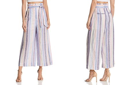Parker Robbie Striped Culottes - Bloomingdale's_2