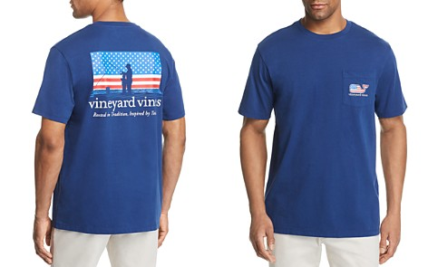 Vineyard Vines Fishing American Flag Tee - Bloomingdale's_2