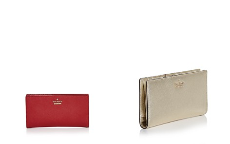kate spade new york Cameron Street Stacy Saffiano Leather Wallet - Bloomingdale's_2