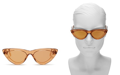 Chimi Women's Peach #006 Mirrored Cat Eye Sunglasses, 51mm - Bloomingdale's_2