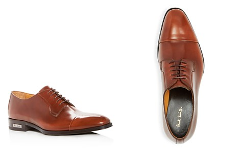 Paul Smith Men's Spencer Leather Cap Toe Oxfords - Bloomingdale's_2
