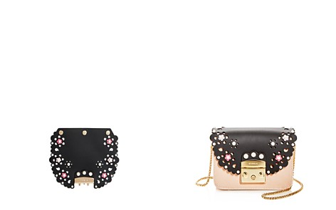 Furla MY PLAY Interchangeable Metropolis Pearl Flower Print Leather Flap - Bloomingdale's_2