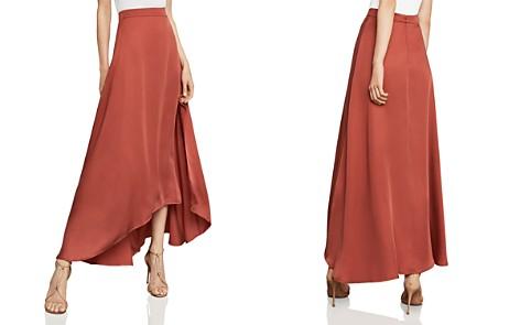 BCBGMAXAZRIA Jillian Asymmetric Satin Maxi Skirt - Bloomingdale's_2