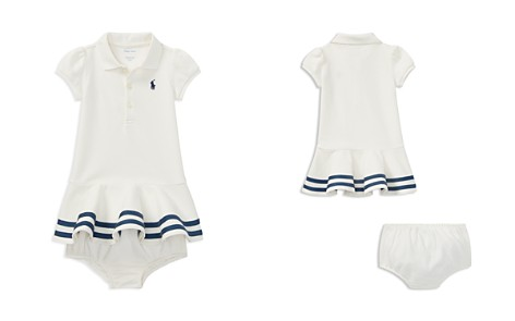 Ralph Lauren Girls' Stretch Mesh Polo Dress & Bloomers Set - Baby - Bloomingdale's_2