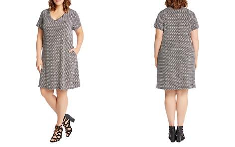 Karen Kane Plus Quinn Graphic Print Dress - Bloomingdale's_2