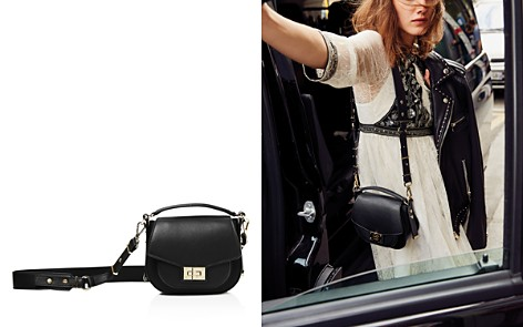 The Kooples Emily Mini Leather Saddle Bag - Bloomingdale's_2