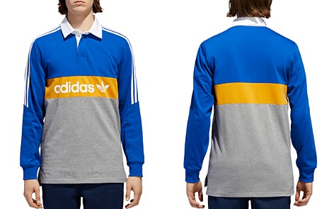 adidas Originals Heritage Rugby Polo Shirt - Bloomingdale's_2