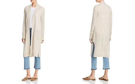 AQUA Cashmere Long Open Cashmere Cardigan - 100% Exclusive - Bloomingdale's_2