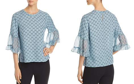 Kobi Halperin Nea Bell Sleeve Silk Blouse - Bloomingdale's_2