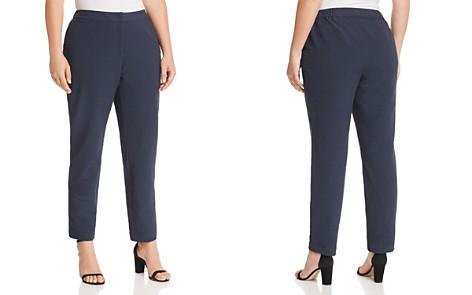 Lafayette 148 New York Plus Manhattan Pinstriped Slim Pants - Bloomingdale's_2