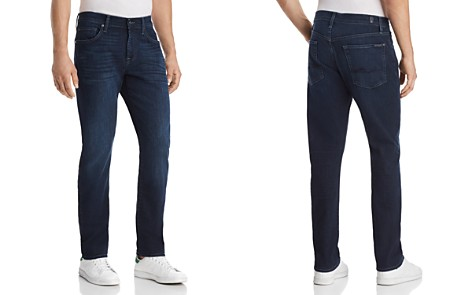 7 For All Mankind Standard Straight Fit Jean in Nightfrost - Bloomingdale's_2
