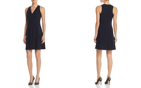 T Tahari Annalise Sleeveless V-Neck Dress - Bloomingdale's_2