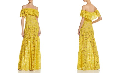 Dress the Population Reese Off-the-Shoulder Lace Gown - Bloomingdale's_2