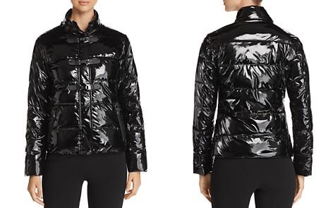 Emporio Armani High-Shine Puffer Jacket - Bloomingdale's_2