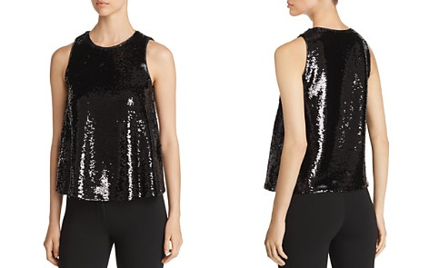 Emporio Armani Sequined Sleeveless Top - Bloomingdale's_2
