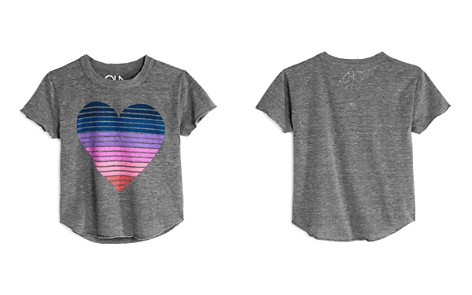 CHASER Girls' Striped Heart Tee - Little Kid, Big Kid - Bloomingdale's_2