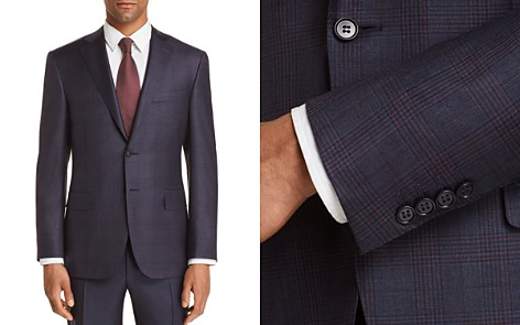 Canali Plaid Classic Fit Sport Coat - 100% Exclusive - Bloomingdale's_2