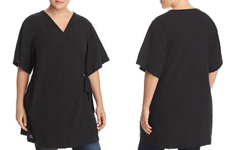 Eileen Fisher Plus Kimono Wrap Dress - Bloomingdale's_2