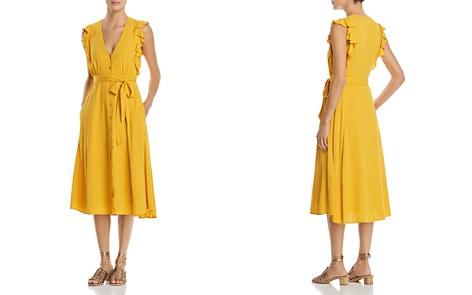 1.STATE Sleeveless Ruffle-Trim Shirt Dress - Bloomingdale's_2