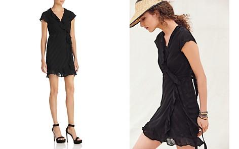 Bardot Ruffle-Detail Faux-Wrap Dress - Bloomingdale's_2