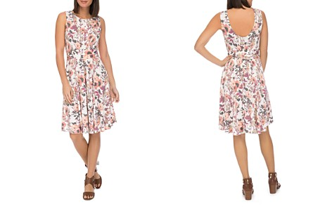 B Collection by Bobeau Skye Sleeveless Floral-Print Knit Dress - Bloomingdale's_2