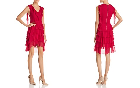 Alice + Olivia Felicita Tiered Ruffled Silk Dress - Bloomingdale's_2