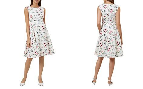 HOBBS LONDON Nova Floral Print Fit-and-Flare Dress - Bloomingdale's_2