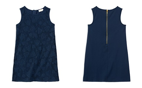 kate spade new york Girls' Contrast Heart-Lace Dress - Big Kid - Bloomingdale's_2