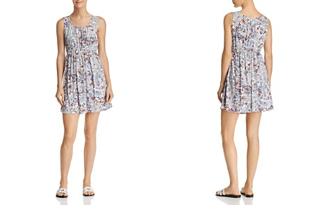 AQUA Floral Paisley Fit-and-Flare Dress - 100% Exclusive - Bloomingdale's_2