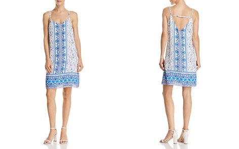 AQUA Paisley Print Shift Dress - 100% Exclusive - Bloomingdale's_2