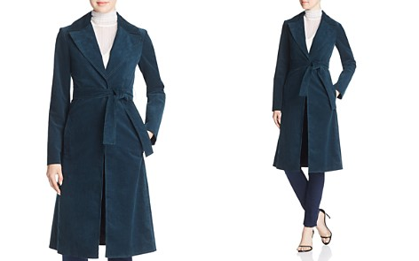 Theory Corduroy Trench Coat - Bloomingdale's_2